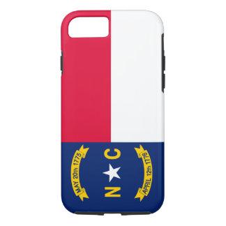 North Carolina State Flag Design iPhone 8/7 Case