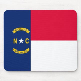 North Carolina State Flag Design Mouse Pad