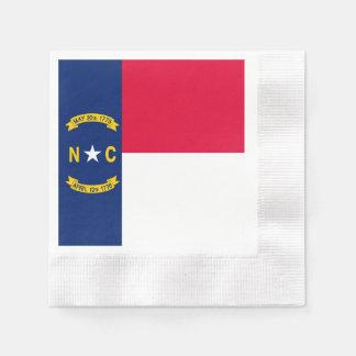 North Carolina State Flag Design Napkin