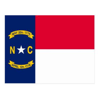 North Carolina State Flag Design Postcard