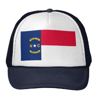 North Carolina State Flag Design Trucker Hat