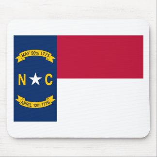 North Carolina State Flag Mouse Pad