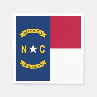 North Carolina State Flag Napkin