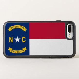 North Carolina State Flag OtterBox Symmetry iPhone 7 Plus Case