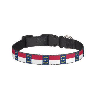 North Carolina State Flag Pet Collar