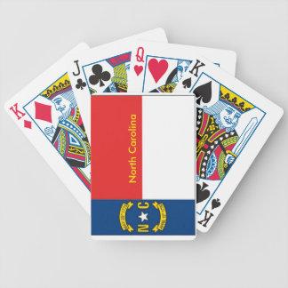 North Carolina State Flag Playing Cards