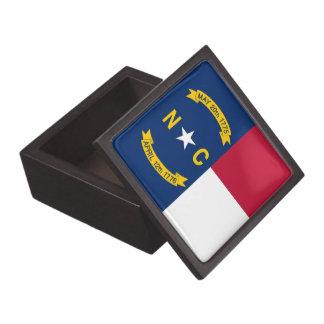 North Carolina State Flag Premium Gift Box