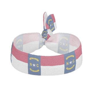 North Carolina State Flag Ribbon Hair Tie
