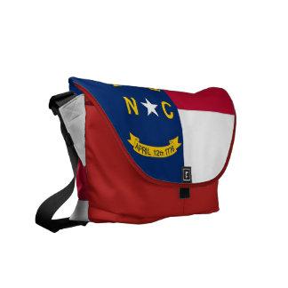 North Carolina State Flag Rickshaw Messenger Bag
