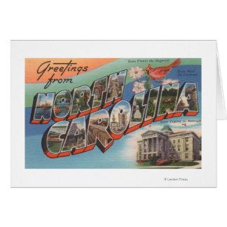 North Carolina (State Flower/Bird) Greeting Card