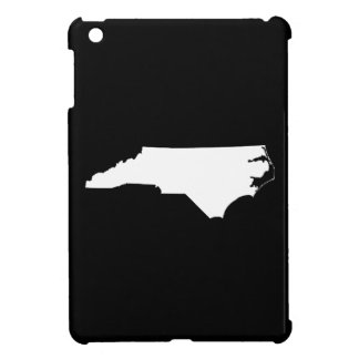 North Carolina State Outline iPad Mini Cases