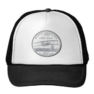 North Carolina State Quarter Mesh Hats