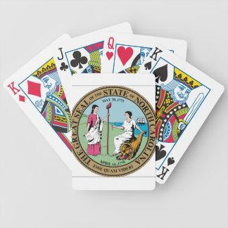 North Carolina State Seal Bicycle Poker Deck