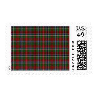 North Carolina State Tartan Postage Stamp