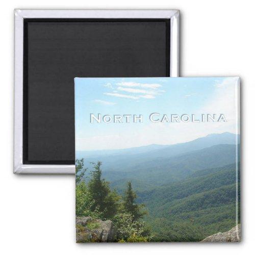 North Carolina State Travel Souvenir Fridge Magnet