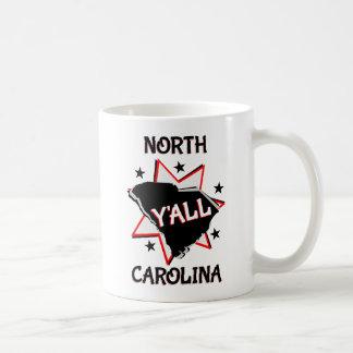 North Carolina State Y'all Coffee Mug