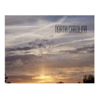 North Carolina Sunset Postcard