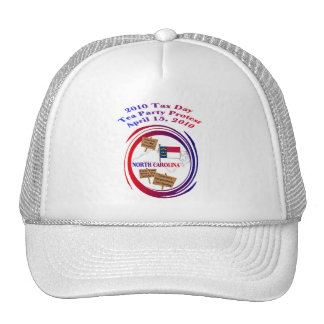 North Carolina Tax Day Tea Party Protest Hat