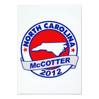 North Carolina Thad McCotter Card