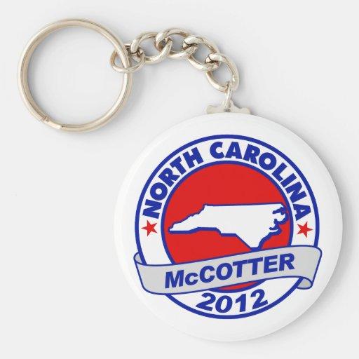 North Carolina Thad McCotter Key Chains