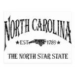 North Carolina - The North Star State Postcard