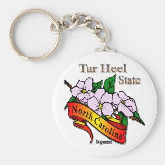 North Carolina The Tar Heel State Key Chains