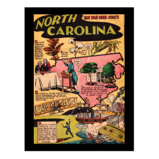 North Carolina The Tar Heel State Post Cards