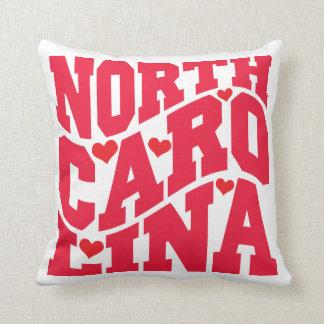 Decorative Pillows Raleigh Nc : North Carolina State Pillows - Decorative & Throw Pillows Zazzle