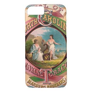 North Carolina Tobacco Ad 1879 iPhone 8/7 Case