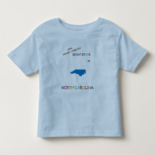 NORTH CAROLINA TODDLER T-SHIRT