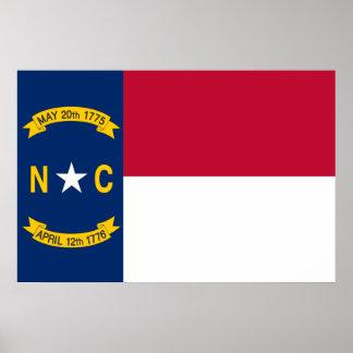 North Carolina, United States Print