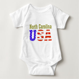 North Carolina USA! Baby Bodysuit