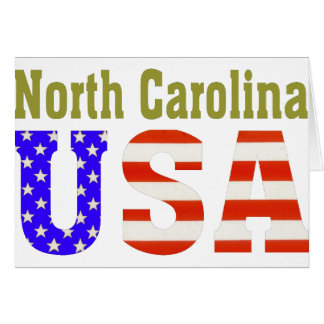 North Carolina USA! Card