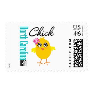 North Carolina USA Chick Postage
