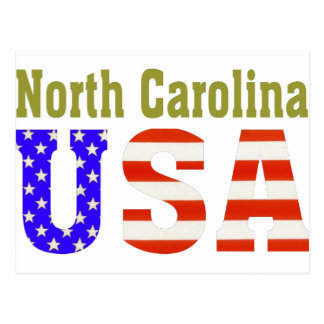 North Carolina USA! Postcard