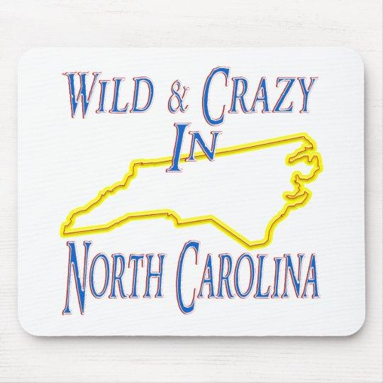 North Carolina - Wild and Crazy Mouse Pad
