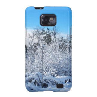 North Carolina Winter Snowfall Landscape Galaxy SII Cases