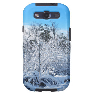 North Carolina Winter Snowfall Landscape Samsung Galaxy S3 Cases