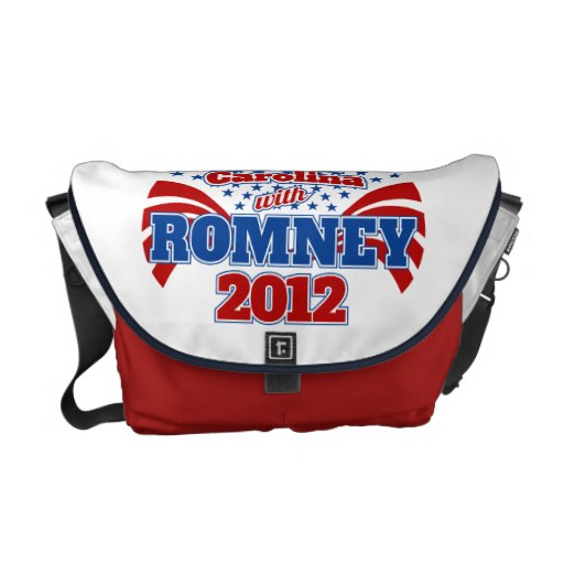 North Carolina with Romney 2012 Courier Bags