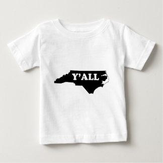 North Carolina Yall Baby T-Shirt
