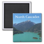 North Cascades National Park 2 Inch Square Magnet