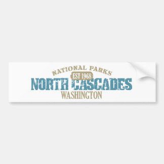 North Cascades National Park Bumper Sticker