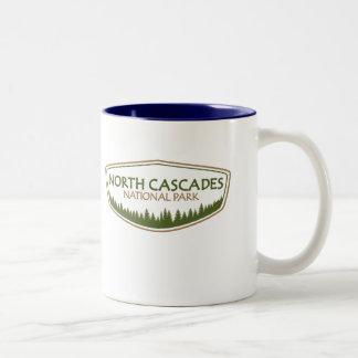 North Cascades National Park Two-Tone Coffee Mug
