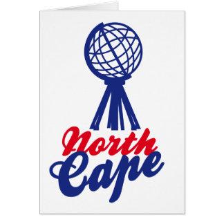 NORTH CASTRATES GLOBE SCULP. CARD