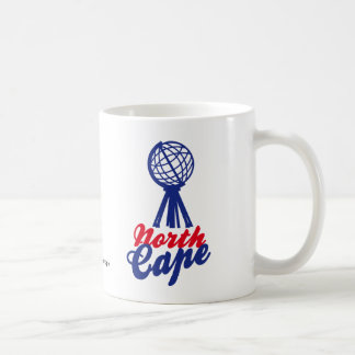 NORTH CASTRATES GLOBE SCULP. COFFEE MUG