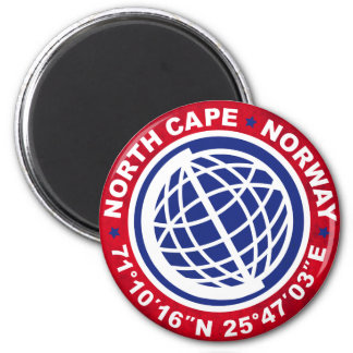 NORTH CASTRATES SPECIAL NORWAY MAGNET