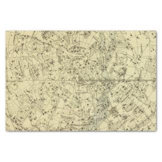 "North Celestial Hemisphere 10"" X 15"" Tissue Paper"