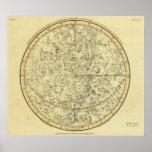 North Celestial Hemisphere Poster