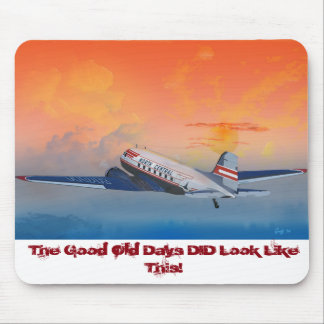 North Central DC-3 Climbing Mouse Pad