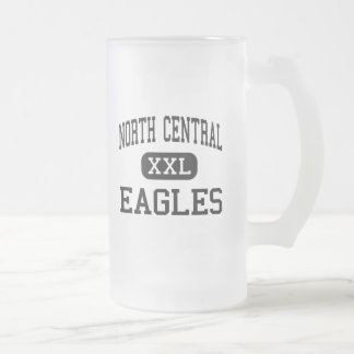 North Central - Eagles - High - Pioneer Ohio Frosted Glass Beer Mug